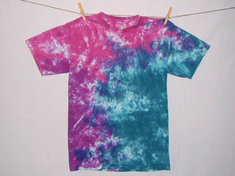 Size adult m tie dye acid wash t shirt 246 for Custom acid wash t shirts