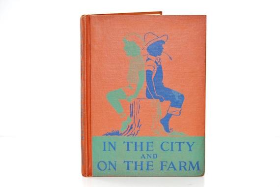 Vintage back To School Book