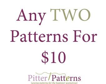 Custom Two Pattern Bundle - You pick two
