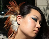 Rising Sun Ear Mohawk Cuff Wrap Earring