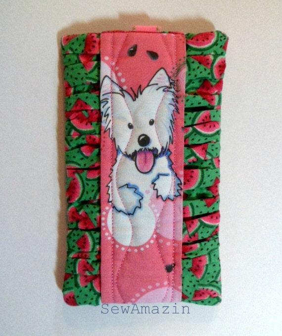 Watermelon Westie Sunglass, Phone or Device Case