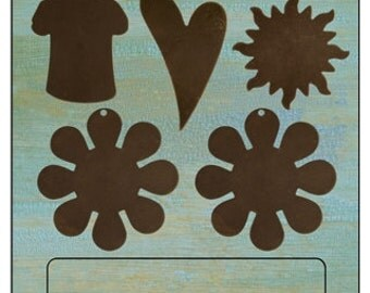 Free US Shipping vintaj fun in the sun altered blanks special price t-shirt, sun, heart flowers