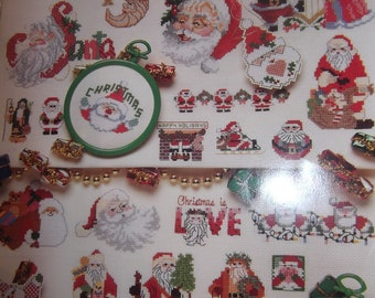 Santa Counted Cross Stitch Projects