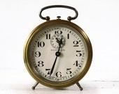 "Antique French  BAYARD Alarm clock "" SONNFOR"" 1930"