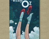 The Wizard of Oz Movie Poster - Whimsical Fantasy Art Print 11 x 17