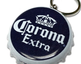 Corona Beer Bottle Cap Customizable ID Tag