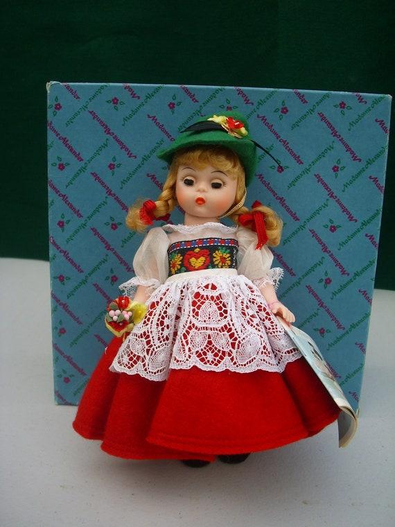 Madame Alexander Switzerland Doll