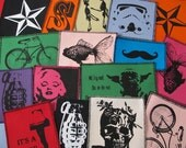 Three pack patch discount - You choose any three canvas patches and save....FREE SHIPPING USA