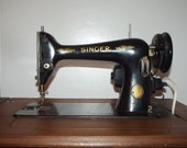 Antique Singer Rare Sewing Machine 1951 Centennial Anniversary Edition Machine ONLY electric Working NOT with CABINET