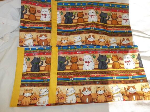 Special Order: Designer Material Cat Tree Mats Set of 4