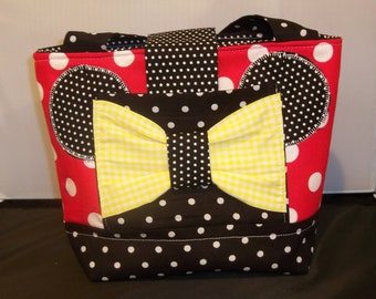 Girls Minnie Mouse Scripture Bag, purse or Tote