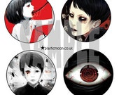 1inch pin badge pack - Parasite