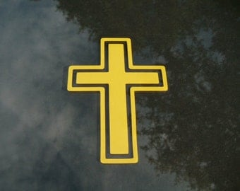 Cross Decal - Choose any color