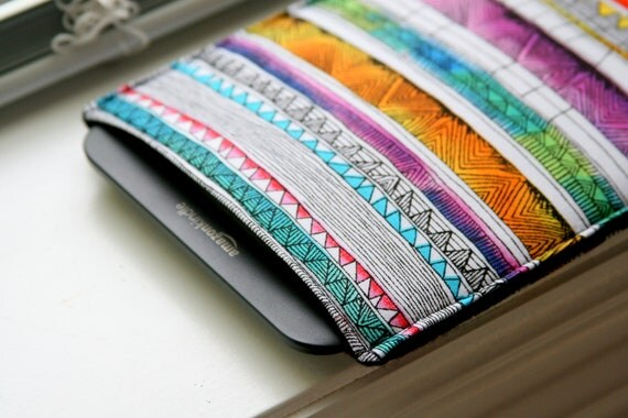 Kindle Case / Kindle Cover / Kindle Sleeve /  Kindle Fire / Kindle Touch / Kindle Paperwhite / iPad Mini - Tribal