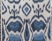 Uzbek Ikat Fabric,SILK Fabric, 2 Yard, i466c