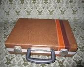 Sale 25 dollars 1980 Stripe Tape Case Vintage Rocker