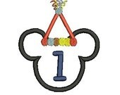 Mickey Mouse Applique, Mickey Mouse Birthday, Mickey Mouse Head (33) Instant Download