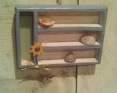 Miniature Shadow Box Decor, Shabby Chic/Cottage Chic Decor, Mini Shadow Box Wall Decor, Home Wall Decor