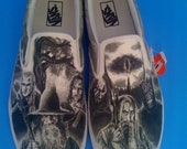 WRAPAROUND Artwork Lord of the Rings Custom Made Shoes ARTWORK ONLY Shoes not included
