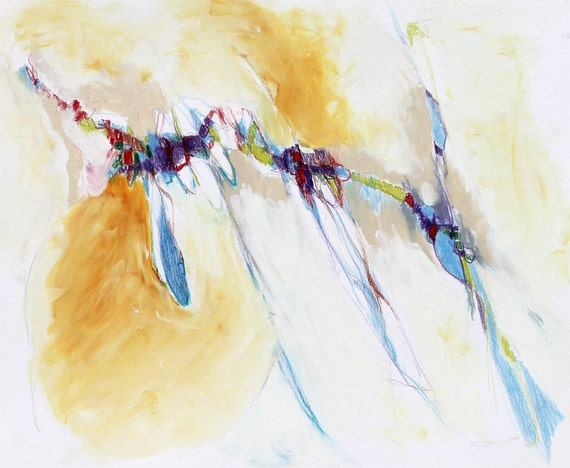 """Abstract Painting Expressionist Painting Contemporary Modern Art """"Revealing"""""""