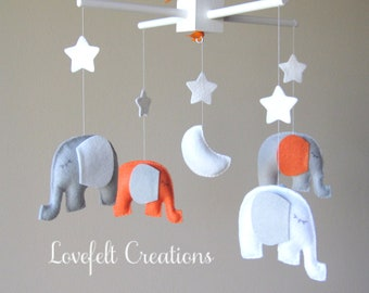 Baby Crib Mobile - Baby Mobile  - Neutral Mobile - You can pick your colors :)