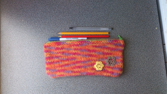 Felted pencil case gifts for girls under 25 eco friendly