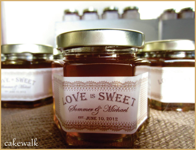 Honey Jar Favor Labels by lovecakewalk on Etsy