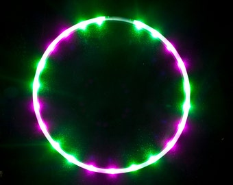 Free Shipping - Solid Color LED Hula Hoop - Melon Slice