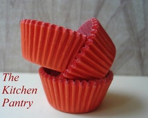 Solid Red  Mini Cupcake Liners (50)