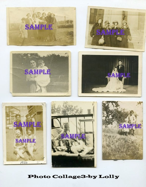 Digital Download-Photo Collage Page No.3-for your artwork projects