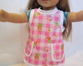 Smock Style Doll Apron