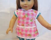 Full coverage doll apron