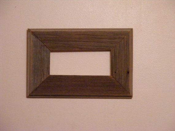 "3 1/2"" X 8"" Vintage Barn Wood Photo Frame"