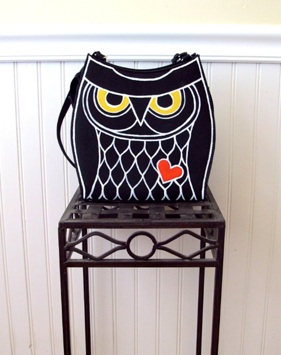 Painted Owl Purse