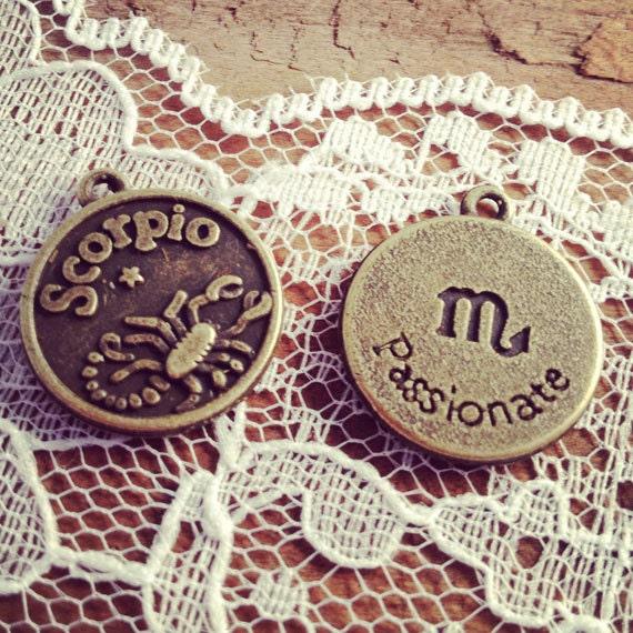 Chinese Scorpio Zodiac Symbol 2 pcs scorpio zodiac sign