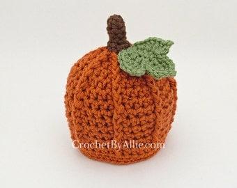 Pumpkin Hat, Crochet by Allie