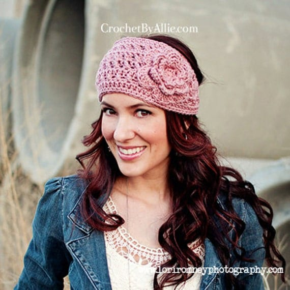 Emma Crochet Head Wrap Headband Ear Warmer Crochet By Allie