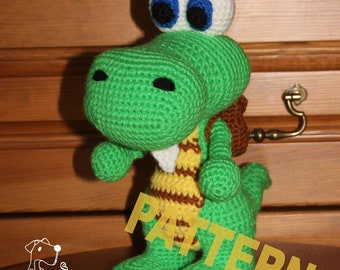 "Croc (from ""Legend of the Gobbos"") - crochet pattern in PDF"