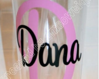 Personalized Initial Tumbler Cup. Great gift