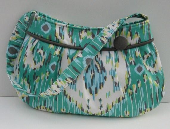 SALE Buttercup bag in Amy Butler Lark