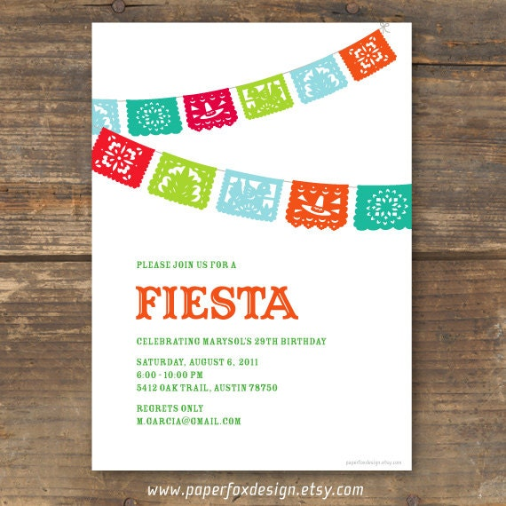 This is a graphic of Inventive Free Printable Fiesta Invitations