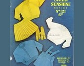 Baby Knitted Clothes B010 PDF Vintage Pattern Sunshine Babies Set from WonkyZebraBaby