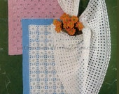 Knit Baby Shawls Crochet B011 PDF from Vintage Patterns from WonkyZebraBaby