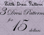 Great Deal - Buy 3 PDF Kids Dress Pattens for 15 Dollars