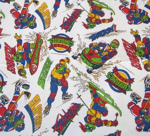 Teenage Mutant Ninja Turtles Fabric 90 S Cartoon Tmnt