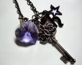 Sailor Saturn Henshin Transformation Wand Necklace