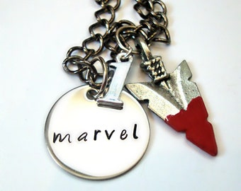 Inspired Marvel Necklace