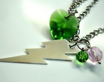 Sailor Jupiter Thunderbolt Necklace