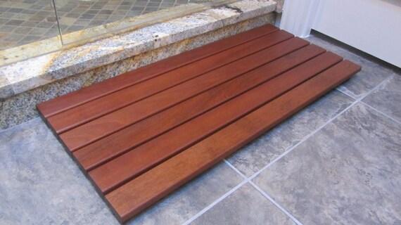Ipe Wood Floor Mat