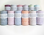 Divine Twine Colored BakersTwine - Pick and Choose Your Color -  One 240 yard spool